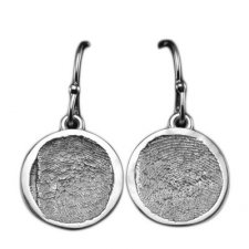 Circle Drop Earring Print Keepsakes