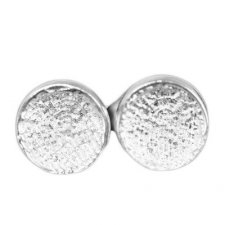Circle Post Earring Print Keepsakes