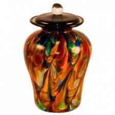 Circus Glass Pet Cremation Urn
