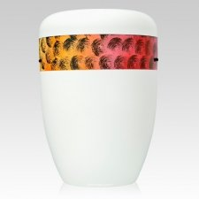 Cirquel Orange Biodegradable Urn