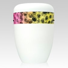 Cirquel Yellow Biodegradable Urn