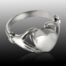 Claddagh Cremation Ring III