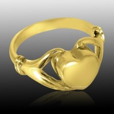 Claddagh Cremation Ring IV