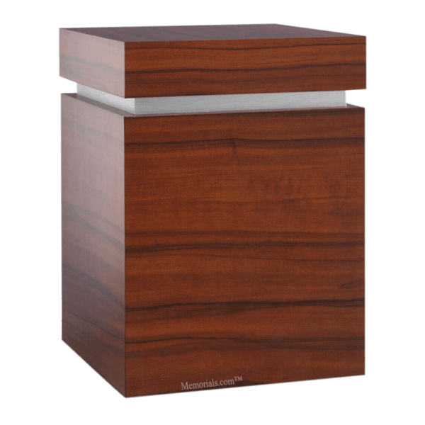 Clarity Rosewood Cremation Urn