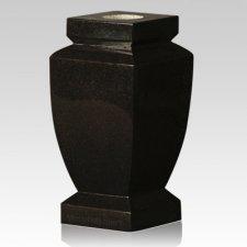 Bahama Blue Classic Granite Vase