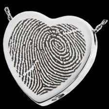 Classic Heart Cremation Print Keepsakes
