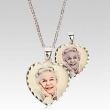 Classic Heart Photo Pendant
