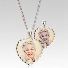 Classic Heart Photo Pendant