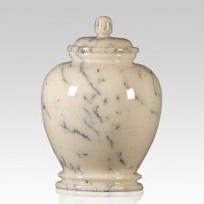 Classic Ivory Child Cremation Urn