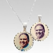 Classic Round Photo Pendant