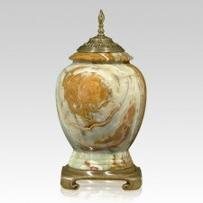 Orion Classica Gold Tone Onyx Cremation Urns