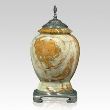 Orion Classica Pewter Onyx Urn