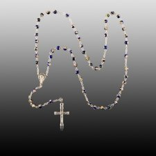Cloisonne Cremation  Rosary