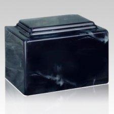 Amity Cloudburst Marble Cremation Urn