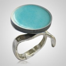 Clouds Memorial Ashes Ring