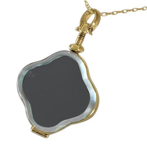 Clover Glass Memorial Jewelry II