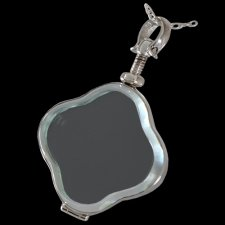 Clover Glass Locket Memorial Jewelry