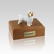 Clumber Spaniel Medium Dog Urn
