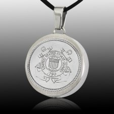 Coast Guard Cremation Pendant III