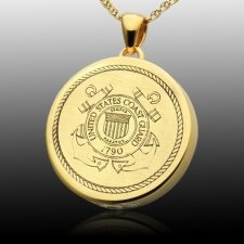 Coast Guard Cremation Pendant IV
