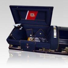 Coast Guard Military Burial Casket