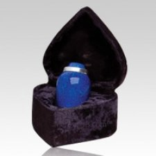 Cobalt Blue Keepsake Cremation Urn