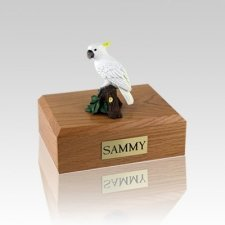 Cockatoo Parrot Medium Bird Cremation Urn