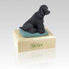 Cocker Black Large Dog Urn
