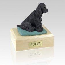 Cocker Black X Large Dog Urn
