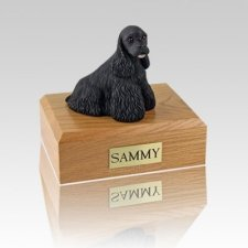 Cocker Spaniel Black Medium Dog Urn