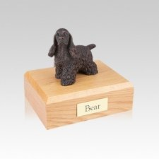 Cocker Spaniel Bronze Small Dog Urn