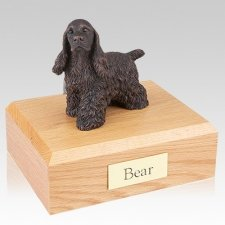 Cocker Spaniel Bronze Dog Urns