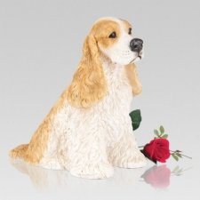 Cocker Spaniel Cremation Urn