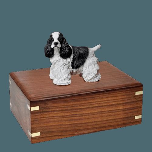 Cocker Spaniel Large Doggy Urn