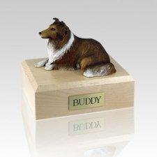 Collie Sable Large Dog Urn