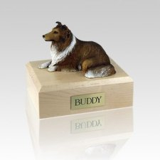 Collie Sable Medium Dog Urn