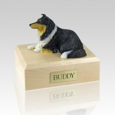 Collie Tri-Color Dog Urns