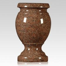 Colorado Red Granite Vase