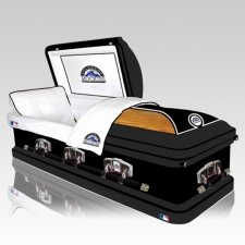 Colorado Rockies Casket