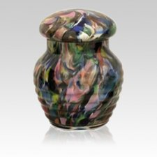 Colorlife Glass Pet Urn