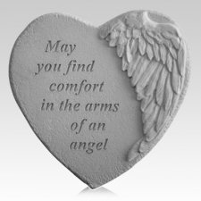 Comfort Angel Heart Stone