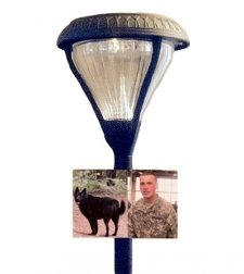 Comfort Pet Photo Grave Lamp