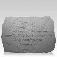 Comfort Remembrance Stone