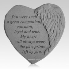 Companion Angel Heart Stone
