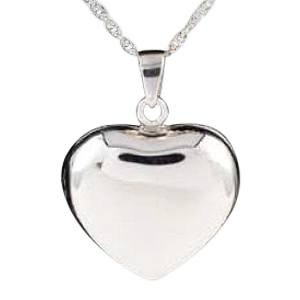 Companion Locket Heart Keepsake Pendant