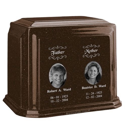 Millennium Chocolate Companion Marble Urn