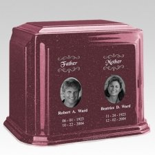 Millennium Raspberry Companion Marble Urn