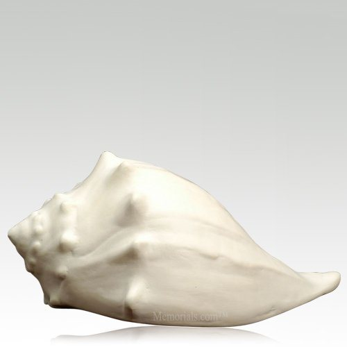 Conch Shell Ceramic Pet Urns