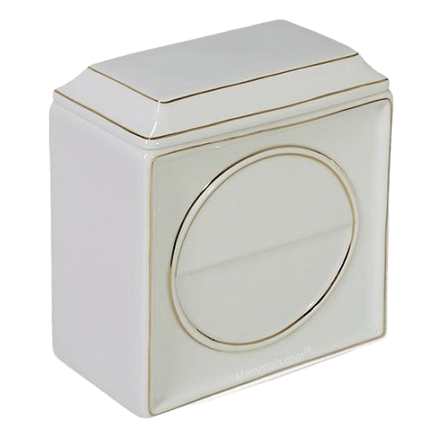 Contempo Porcelain Cremation Urn