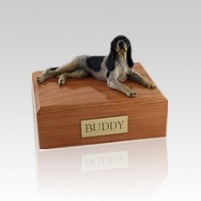 Coonhound Medium Dog Urn
